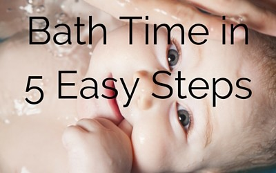 How to Bathe a Baby in 5 Easy Steps